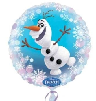 Ballonnenpost Frozen Olaf Folie Ballon 45cm