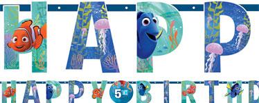 Finding Dory 'Happy Birthday' Letter Slinger 1.4m
