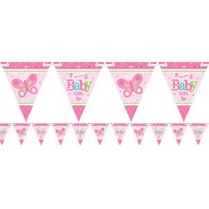 Welkom Baby Meisje Vlaggenlijn 2m