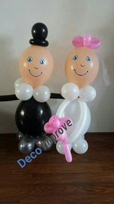 DYI Bruidspaar Ballondecoratie Kit Doe Het Zelf Pakket