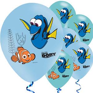 Finding Dory Latex Ballonnen 6st