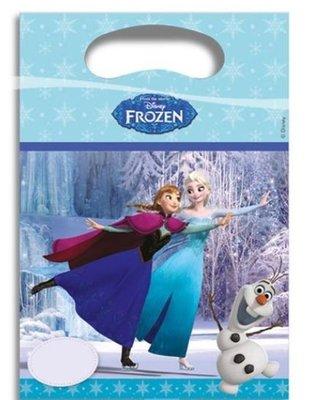 Frozen Schaatsen Uitdeel Zakjes 6st