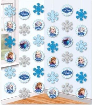 Frozen Hangdecoratie 6st