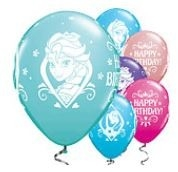 Frozen 'Happy Birthday' Latex Ballonnen 25st