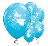 Frozen Olaf Blauw Latex Ballonnen 25st