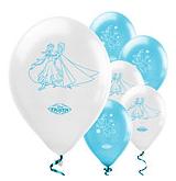 Frozen Schaatsen Blauw Latex Ballonnen 8st