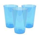 Caribisch Blauw Plastic Tuimel Bekers 36st