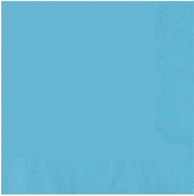 Caribisch Blauw Tafel Servetten 20st