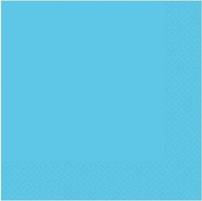 Caribisch Blauw Tafel Servetten 50st