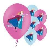 Frozen Schaatsen Latex Ballonnen 6st