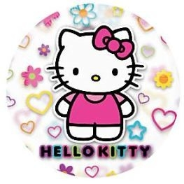 Hello Kitty Tranparante Folie Ballon 66cm