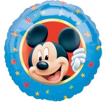 Mickey Mouse Karakter Folie Ballon 45cm