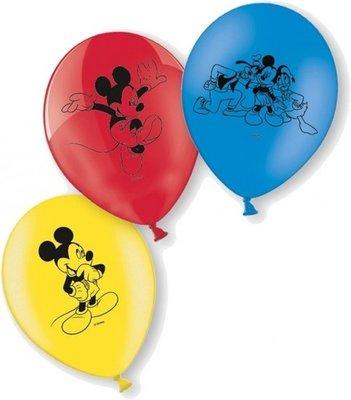 Mickey Mouse Latex Ballonnen RGB 10st