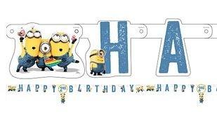 Minions Bananarama 'Happy Birthday' Banner 180cm
