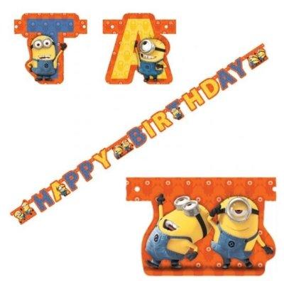 Minions 'Happy Birthday' Letter Slinger 180cm