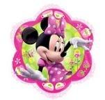 Minnie Mouse Bloem Folie Ballon 46cm