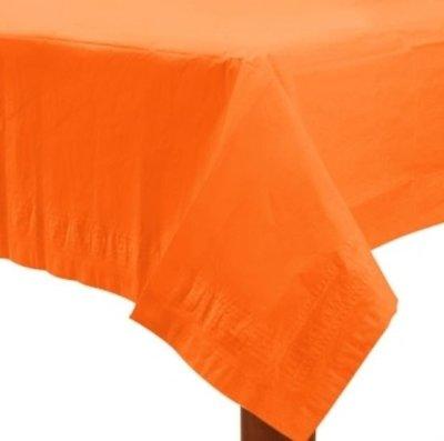 Sinaasappel Oranje Papieren Tafelkleed 137x274cm
