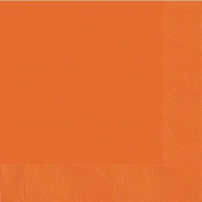 Sinaasappel Oranje Tafel Servetten 20st
