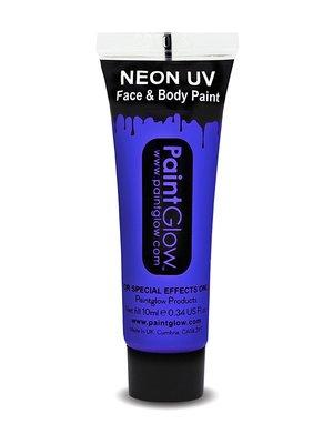Blauw Neon UV Schmink 10ml