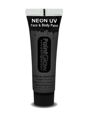 Zwart Neon UV Schmink 10ml