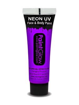 Violet Paars Neon UV Schmink 10ml
