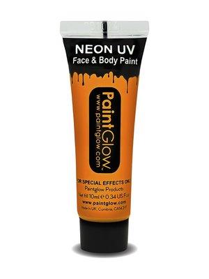 Oranje Neon UV Schmink 10ml