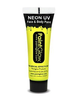 Geel Neon UV Schmink 10ml