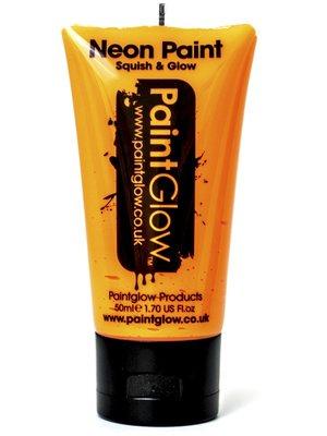 Oranje Neon UV Schmink 50ml