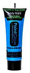Blauw Neon Glow-in-the-Dark Bodypaint 10ml