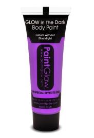 Violet Paars Neon Glow-in-the-Dark Bodypaint 10ml