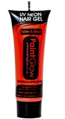 Oranje Neon UV Haar Gel 10ml