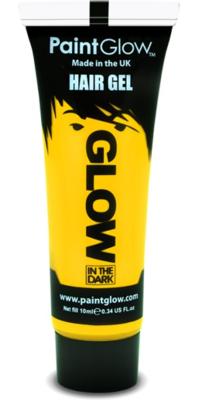 Geel Glow-in-the-Dark Haar Gel 10ml