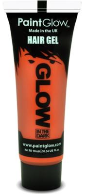 Oranje Glow-in-the-Dark Haar Gel 10ml