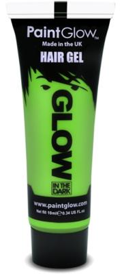 Groen Glow-in-the-Dark Haar Gel 10ml