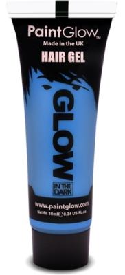 Blauw Glow-in-the-Dark Haar Gel 10ml