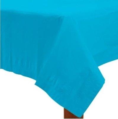 Caribisch Blauw Papieren Tafelkleed 137x274cm