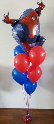 Spiderman Groot Helium Tros Ballonnen Boeket