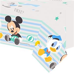 Baby Mickey Plastic Tafelkleed 120x180cm