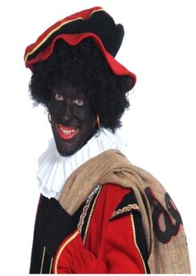 Zwarte Piet Klassiek Pruik