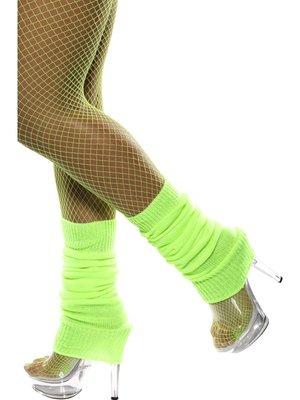 Neon Groen Beenwarmers - One Size