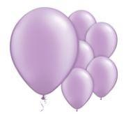 Qualatex Pearl Lavender Balloons Parelmoer Lavendel Paars Ballonnen 100st 27cm