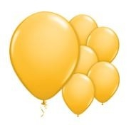Qualatex Fashion Goldenrod Balloons Stijlvol Goldenrod Ballonnen 100st 27cm