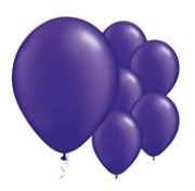 Qualatex Jewel Quartz Purple Balloons Juweel Kwarts Paars Ballonnen 100st 12cm