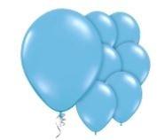 Qualatex Pale Blue Balloons Licht Blauw Ballonnen 100st 27cm