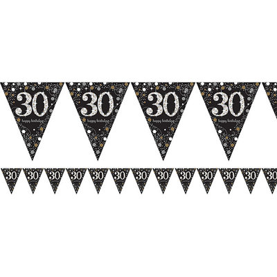 Sprankelende 30e Verjaardag Vlaggenlijn 4m