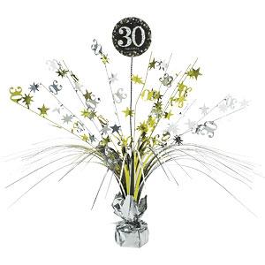 Sprankelende 30e Verjaardag Tafeldecoratie 46cm