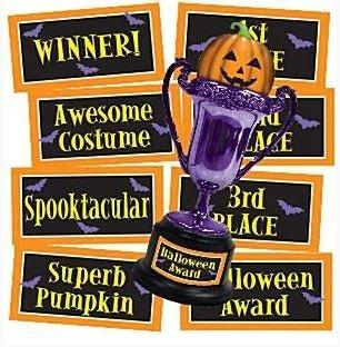 Halloween Trofee met Stickers