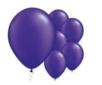 Qualatex Pearl Purple Balloons Parelmoer Paars Ballonnen 100st 27cm