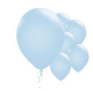 Qualatex Pearl Light Blue Balloons Parelmoer Licht Blauw Ballonnen 100st 27cm