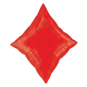 Rode Ruiten Folie Ballon 48cm